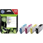 HP Combo Pack n°364 (N9J73AE) - Cartouche d'encre