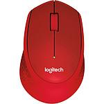 Logitech M330 Silent Plus - Rouge