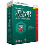 Kaspersky Lab Internet Security 2017 1 poste / 1 an