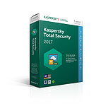 Kaspersky Lab Total Security 2017 5 Postes / 1 An