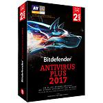 Bitdefender Antivirus 2017 Plus - 2 ans - 3 postes