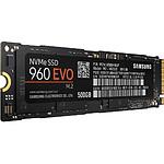 Samsung Serie 960 EVO M.2 PCIe NVMe - 500 Go