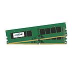 Crucial 16 Go (2 x 8 Go) DDR4 2400 MHz CL17 SR