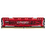 Ballistix Sport LT RED DDR4 16 Go 2400 MHz CAS 16 DR