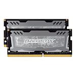 Ballistix SO-DIMM Sport LT DDR4 2 x 16 Go 2400 MHz