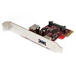 StarTech.com PCI-Express 1x vers 2 ports USB 3.0