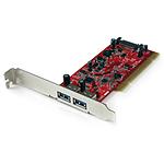 StarTech.com PCI vers 2 ports USB 3.0