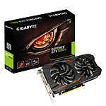 Gigabyte GeForce GTX 1050 Ti Windforce OC - 4 Go