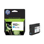 HP Cartouche d'encre n°953XL (F6U16AE) - Cyan