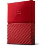 Western Digital (WD) My Passport USB 3.0 - 4 To (rouge)