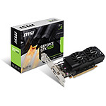MSI GeForce GTX 1050 2GT LP - 2 Go