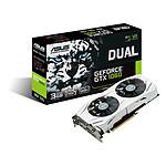 Asus GeForce GTX 1060 Dual - 3 Go