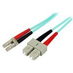 StarTech.com Câble fibre optique LC/SC LSZH duplex 50/125 - 2 m