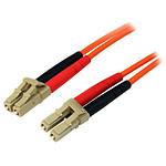 Câble fibre optique LC/LC duplex 62,5/125 - 2 m