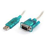 StarTech.com Câble USB 2.0 (A) / DB9 (série RS232) - 90cm