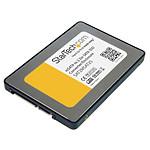 StarTech.com Boîtier d'adaptateur SSD - mini SATA vers SATA