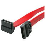StarTech.com Câble SATA Serial ATA - 46 cm - 18 pouces - Coudé