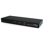 StarTech.com Switch KVM USB 4 Ecrans DVI pour 2 ordinateurs