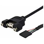StarTech.com Câble Adaptateur USB 2.0 Header carte mère