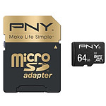PNY Elite Performance micro SDXC 64 Go (100Mo/s)