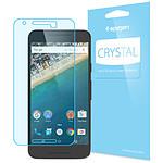 Spigen Protection d'écran x3 Cristal - Nexus 5X