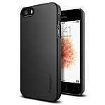 Spigen Coque Thin Fit (noir) - iPhone SE