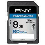 PNY Performance SDHC 8 Go (80Mo/s)