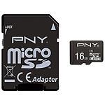 PNY Performance micro SDHC 16 Go (50Mo/s)