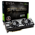 EVGA GeForce GTX 1070 SC Gaming Black Edition - 8 Go