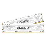 Ballistix Sport LT White DDR4 2 x 8 Go 2666 MHz CAS 16 SR