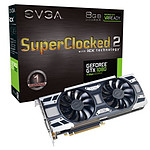 EVGA GeForce GTX 1080 SC2 Gaming iCX - 8 Go