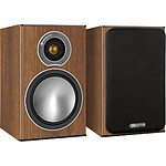 Monitor Audio BRONZE ONE (la paire) - Walnut