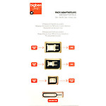 BigBen Connected Pack 3 adaptateurs carte micro et nano SIM