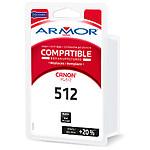 Armor Compatible Canon PG-512 - Noir