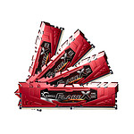 G.Skill Flare X Red DDR4 4 x 8 Go 2133 MHz CAS 15