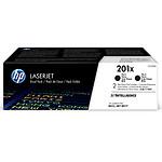 HP Pack de 2 toners d'encre n°201X (CF400XD) - Noir