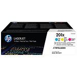 HP Pack de 3 toners d'encre n°201X (CF253XM)