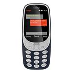 Nokia 3310 - Double SIM (bleu)