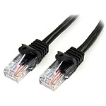 StarTech.com Câble Ethernet RJ45 Cat 5e UTP Noir - 5 m