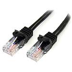 StarTech.com Câble Ethernet RJ45 Cat 5e UTP Noir - 5 m