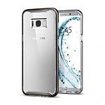 Spigen Coque Neo Hybrid Crystal (gris) - Galaxy S8+