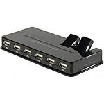 Hub 10 port USB 2.0 + Alimentation 5V
