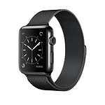 Apple Watch 2 acier inoxydable 38 mm noir
