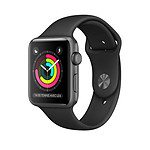 Apple Watch 2 aluminium 42 mm gris sidéral