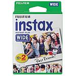 Fujifilm Film Instax Wide Bipack (10x2)
