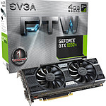EVGA GeForce GTX 1050 Ti FTW Gaming - 4 Go