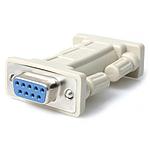 StarTech.com Adaptateur null modem DB9 série RS232 - F/F