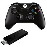 Microsoft Xbox One - Noir + Adaptateur sans-fil PC