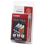 Canon Pack de 3 MultiPack BCI-6 C/M/Y