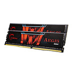 G.Skill Aegis DDR4 2 x 4 Go 2400 MHz CAS 17
